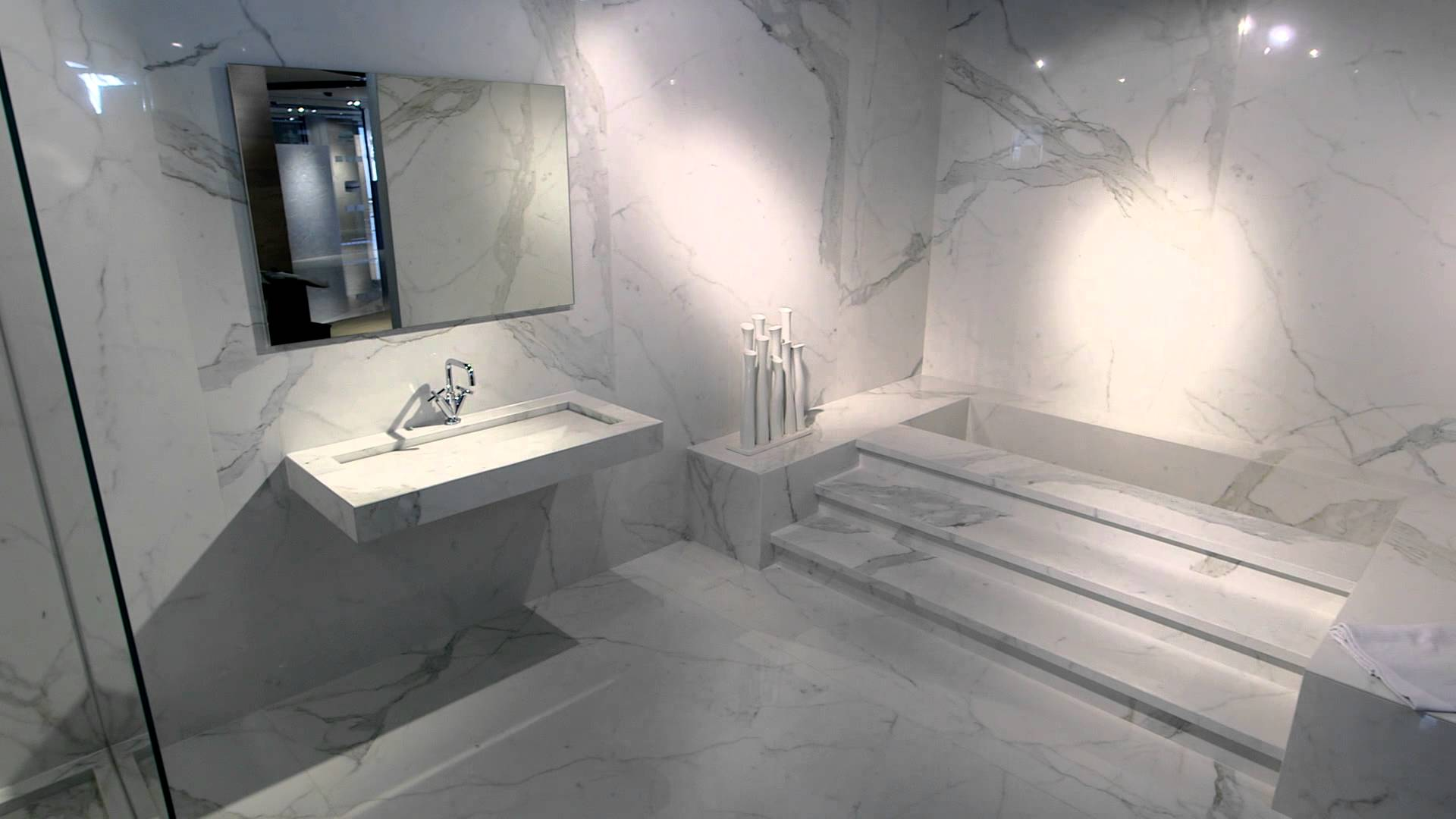 Salle De Bain Carrelage Marbre carrelage pour salle de bain effet marbre - carrelage du monde