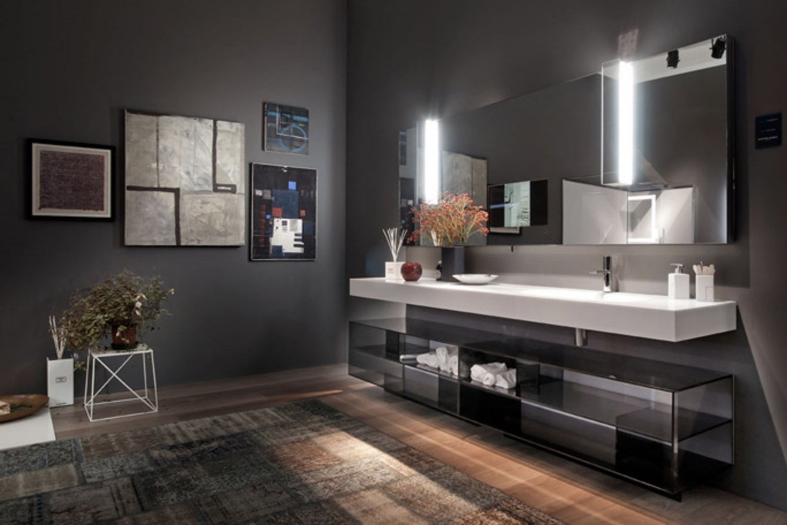 Meuble de salle de bain design Artelinea - Carrelage du Monde