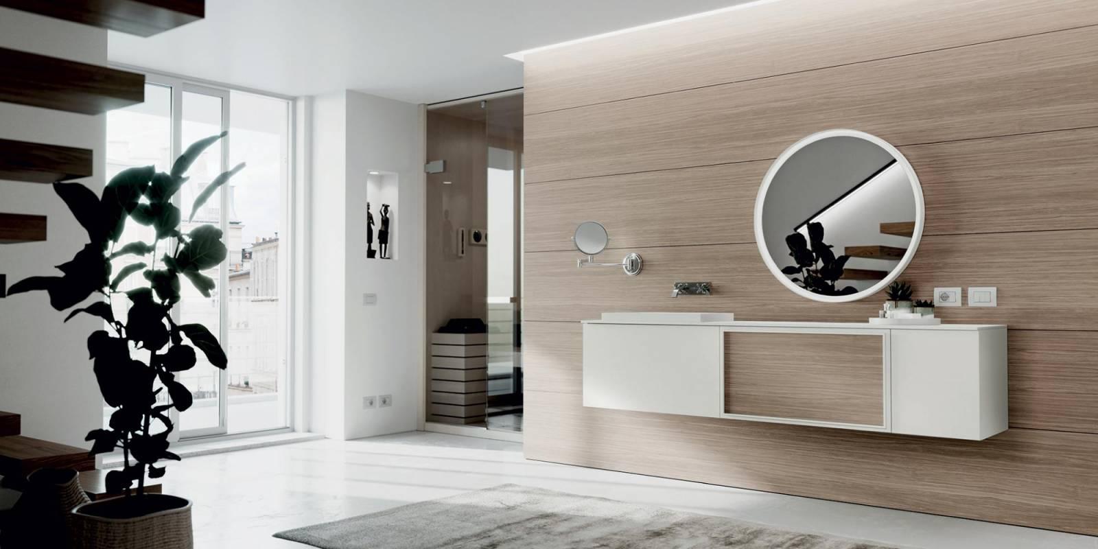 "Photo Salle Bain Moderne meuble salle de bain moderne ""art"" - carrelage du monde"