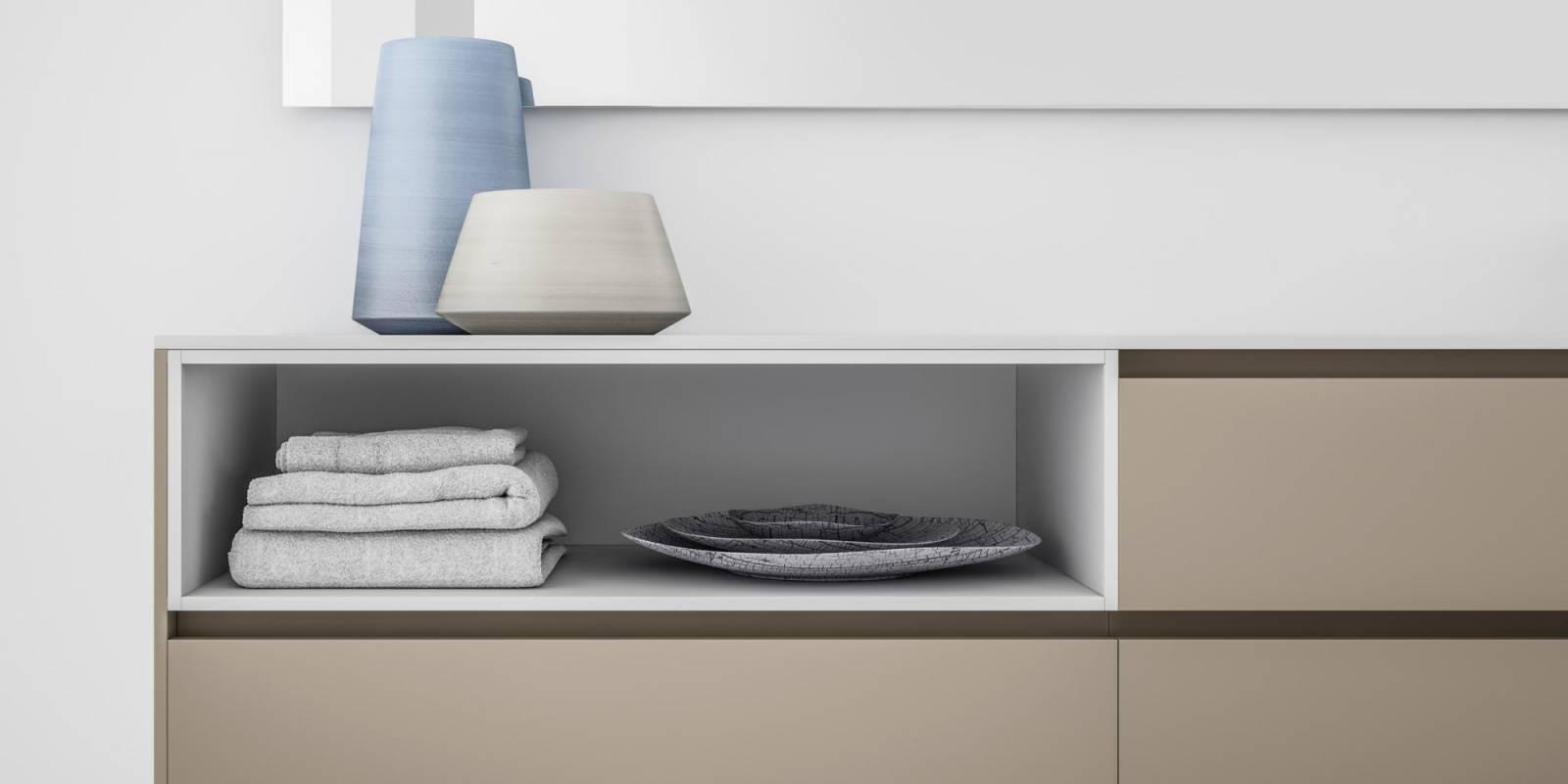 """Meuble Salle De Bain Design Contemporain meuble salle de bain épuré """"infinity"""" - carrelage du monde"""